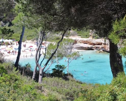 Bucht Cala Llombards